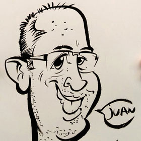 Enlarge - Caricatures for events and weddings in Córdoba